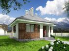 Проект уютного одноэтажного дома